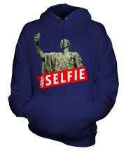 Gaius Julius Caesar Hashtag Selfie Unisex Adult Hoodie