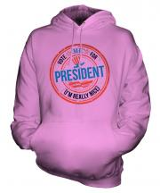 Me For President Unisex Adult Hoodie