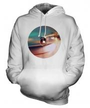 Record Player Fashion Print Unisex Adult Hoodie