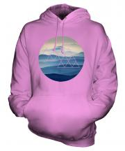 Foggy Mountains Fashion Print Unisex Adult Hoodie